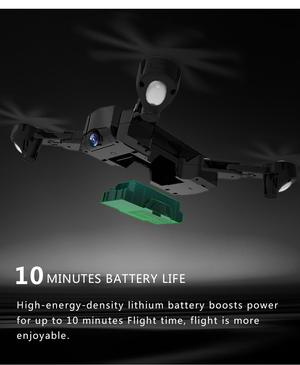 Global Drone Foldable GPS Follow Drone with Camera Full HD RC Quadcopter Profissional FPV Drones Quadrocopter VS VISUO XS812 14
