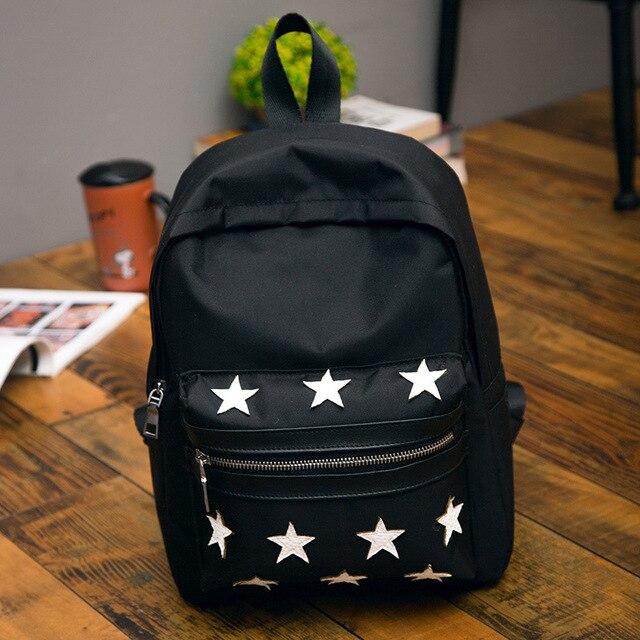 fa6e3be851 DUDINI New Arrival Unisex Backpacks Stars Pattern Side Buckles Black Gray  Hanging on Stroller Protable