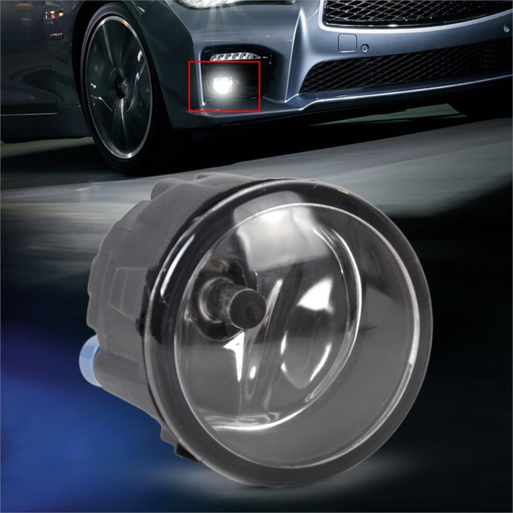CITALL Right/Left Fog Light Lamp H11 Halogen 12V 55W Bulb Assembly 261508993B For Nissan Murano Cube Juke Infiniti QX50 FX37 G37