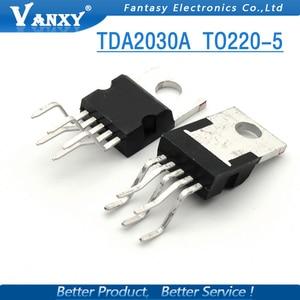Image 4 - 10 Pcs TDA2030 TO220 5 TDA2030A To 220 Lineare Audio Amplificatore Corto Circuito E Protezione Termica Ic