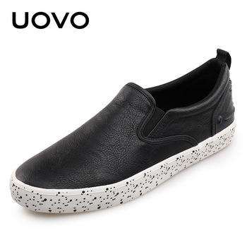 UOVO Adult Men's Sneakers Spring Autumn Classic Skateboarding Shoes Men's Sprots Shoes