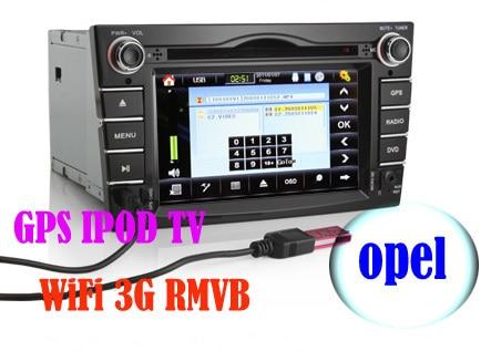 KS1071 2 din opel astra zafira vectra car dvd radio with gps navigation 7 inch HD car multimedia system wifi 3g rmvb tv ipod