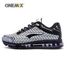 Hombre de Los Zapatos Corrientes ONEMIX Cojín DMX 2017 Nuevos Hombres Ligeros Calzado Deportivo Zapatillas de Deporte Gimnasio Jogging Correr Entrenadores Tamaño Corredor 39-46