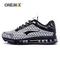 ONEMIX Man Running Shoes Cushion DMX 2017 New Lightweight Men Sport Shoe Sneakers Fitness Run Trainers Jogging Runner Size 39-46