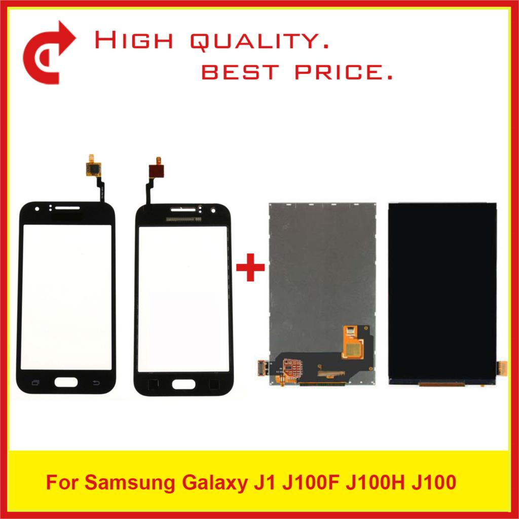 """High Quality 4.3"""" For Samsung Galaxy J1 J100 J100H J100F Touch Lcd Display With Touch Screen Digitizer Sensor Panel j100 Monitor-in Mobile Phone LCD Screens from Cellphones & Telecommunications"""