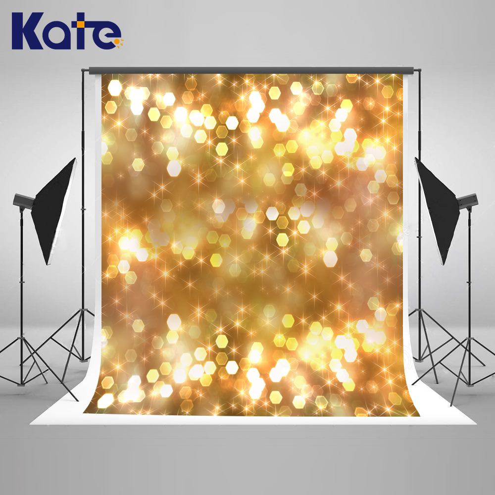 Kate Gold Bright Photography Backdrops 10x10ft Bokeh Light Christmas Camera Fotografica Profissional For Children Photo Studio 1pc 150w 220v 5500k e27 photo studio bulb video light photography daylight lamp for digital camera photography