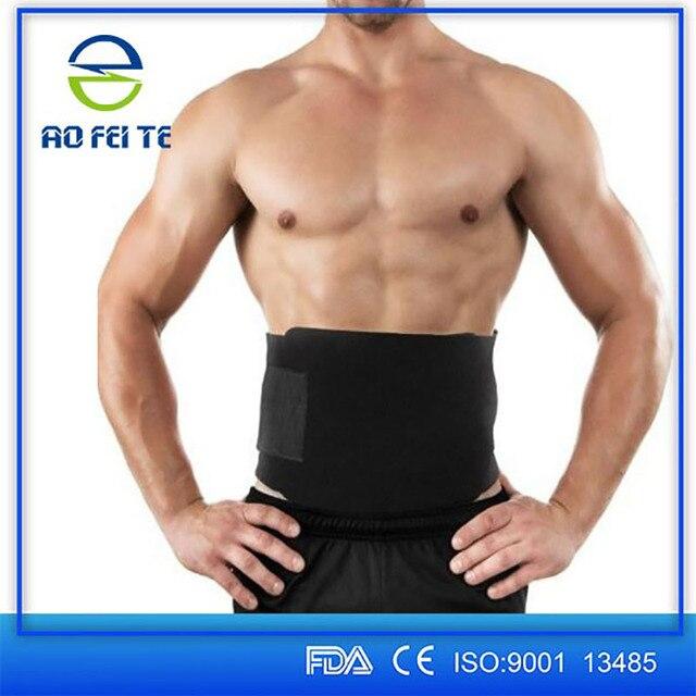 Women Men Abdominal Slimming Belt Back Braces Supports Sports Belts Waist Slimmer Tummy Trimmer Breathable Belt 100cm Y079 1