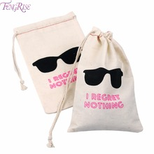 FENGRISE 10pcs I Regret Nothing Hangover Bags Hen Party Gift Holder Bachelorette Decor Supplies Wedding Gifts for Guests