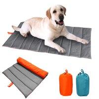 Outdoor Travel Dog Seat Mat Breathable Antibacterial Pet Dog Cat Moistureproof Grass Collapsible Seat Mat For Medium Large Dog