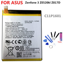 C11P1601 battery FOR ASUS Zenfone 3 ZE520kl Z017D 2650mAh lithium battery li-ion polymer battery High capacit