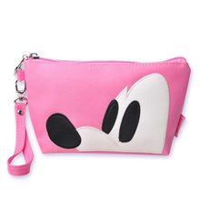 Fashion Cosmetic Bag Small Women Mini Mickey Make Up Bag Travel Waterproof Portable Makeup Bag Travel Toiletry Kits недорого