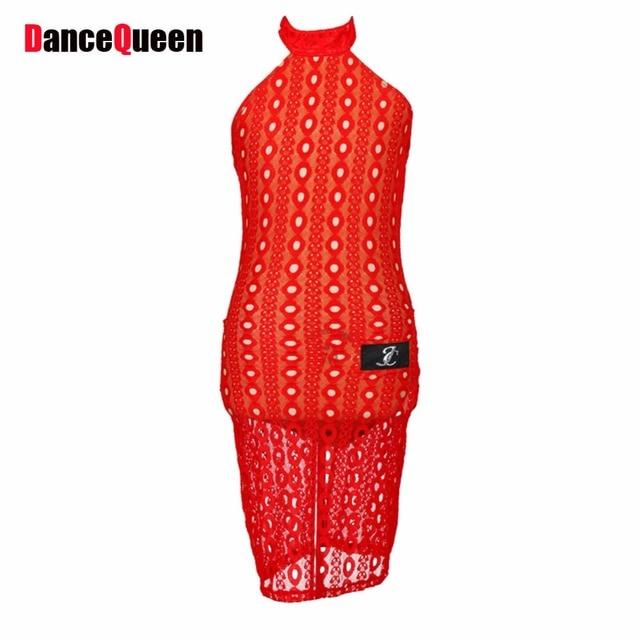 Vestidos de presentacion color rojo