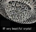20 pçs/lote 20 mm cristais de vidro para lustres facetada bola pendurada gotas de cristal para lustre peças para decoração de casa
