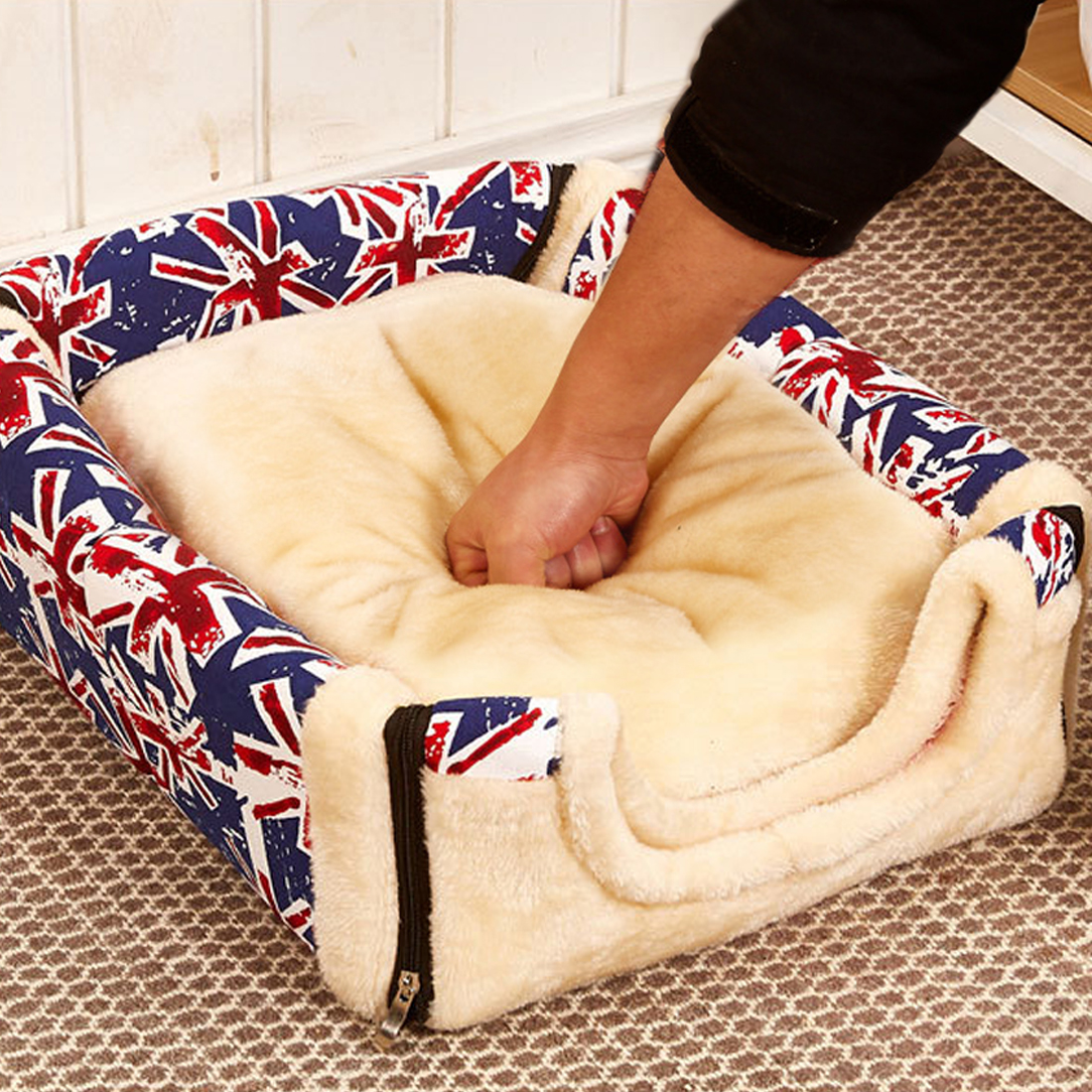 Hot Pets Cats house Multifuctional goods dog bed house For Small Medium Dogs Travel Pet Bed Bag Product Tent for animals