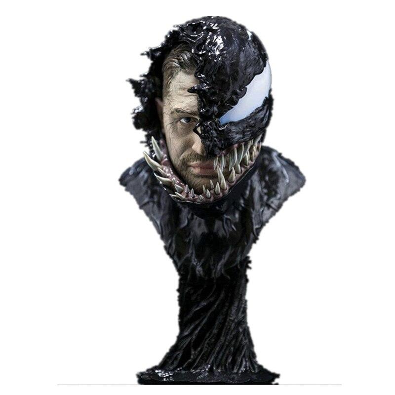 Prévente Avengers: Infinity Guerre anti-Héros Venin Buste GK statue en résine D'action modèle de figure Jouet (Délai de livraison: 60 Jours) x483