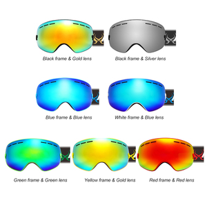 Image 2 - Children Ski Goggles UV400 Anti fog Double Layers Skiing Mask Glasses Snowboard Skating Windproof Sunglasses Skiing Goggles