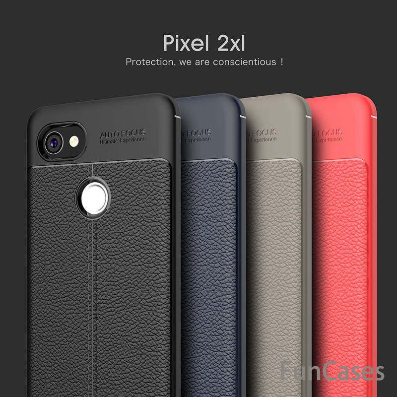 Case Luxury Soft Shockproof Anti-Knock Leather Grained TPU Protective Back Cover Case...