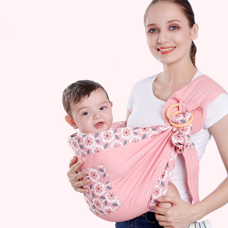 Happyflute 0-36 Months Four Seasons Multifunctional Newborn Baby Sling Woman Breast-feeding Cover Baby Articles