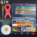Multicolour Metal Hook Needle Set Knitting Needle Set Crochet Full Set Needle Crocheted Sweater Tools DIY Crafts S801-18
