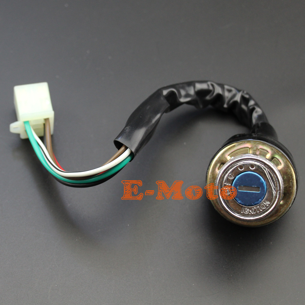 medium resolution of ignition key switch 6 wire for kazuma meerkat 50 falcon redcat 90 arctic cat 90 wiring