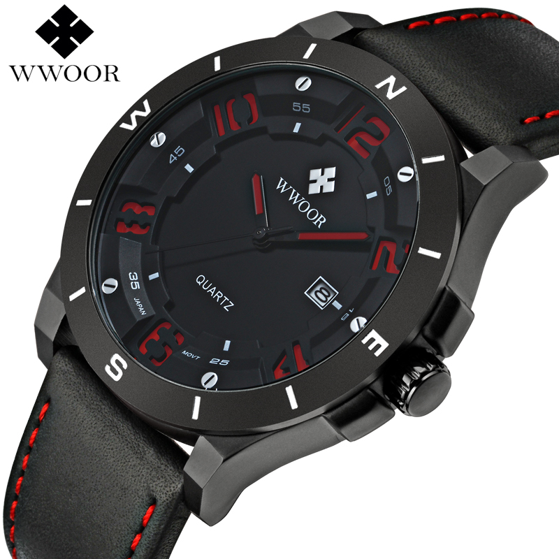 Top Brand Luxury Waterproof Military Watches Male Date Relogio Masculino Leather Strap Casual Quartz Watch Men Sport Wrist Watch цена и фото