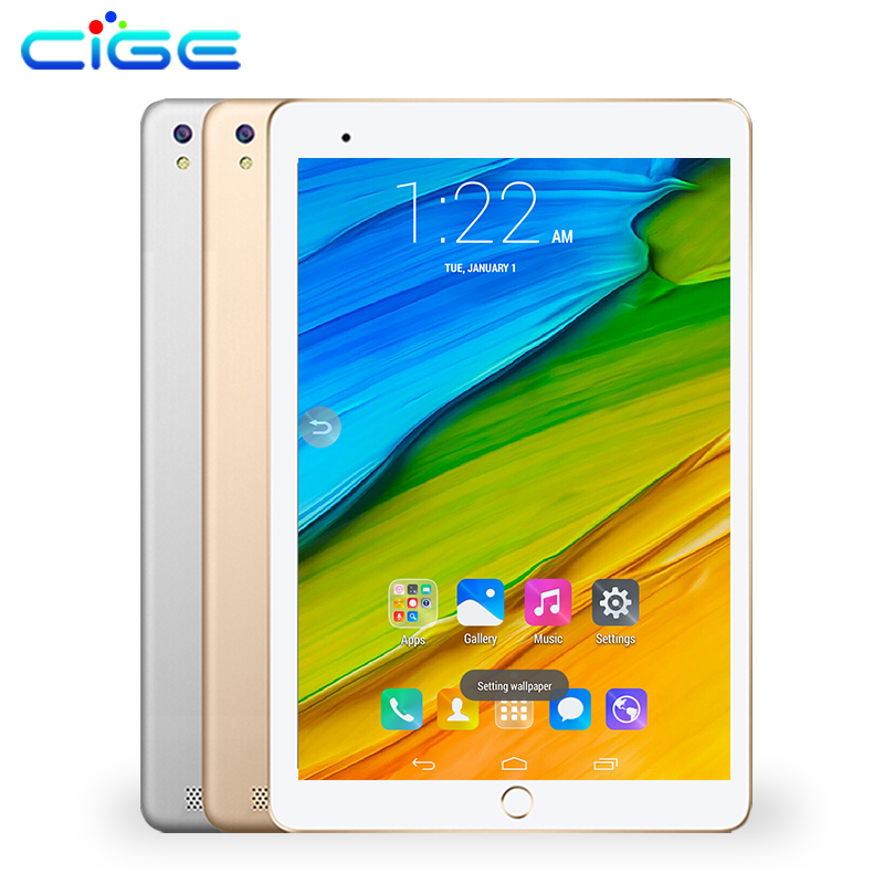 CIGE 2019 newest 10.1 inch Tablets Octa Core 4GB RAM 32GB ROM Dual SIM Phone Android 7.0 Wifi 3G 4G LTE Tablet PC 10 10.1 PAD free shipping 10 inch tablet pc 3g phone call octa core 4gb ram 32gb rom dual sim android tablet gps 1280 800 ips tablets 10 1