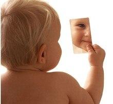 50 قطعة رقيقة جدا مرآة الفولاذ المقاوم للصدأ مرآة صغيرة simpleheart ted مرآة لمستحضرات التجميل أفضل هدية يمكن أن تجعل الشعار الخاص