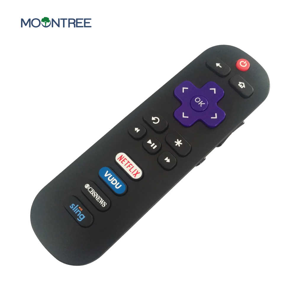 Universal TV Remote Control Replacement for TCL ROKU TV RC280 55S405  40S3800 with Shortcut Netflix Vudu CBS Sling Button