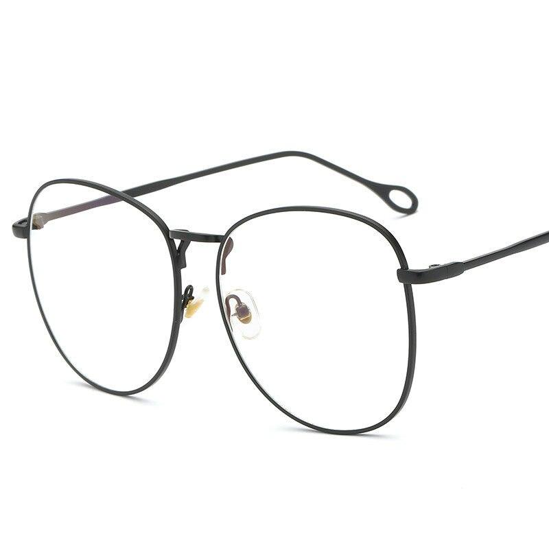 Blue Light Blocking Glasses Goggles Games Reading Glasses Protective Glasses Brand Alloy Oversized Frame Female Male  NX blue light blocking glasses