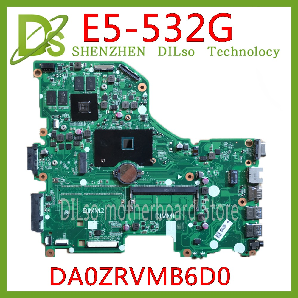 KEFU DA0ZRVMB6D0 motherboard for Acer Asipre E5-532G E5-532 Laptop motherboard with N3150/N3050 CPU <font><b>920M</b></font> original mainboard image