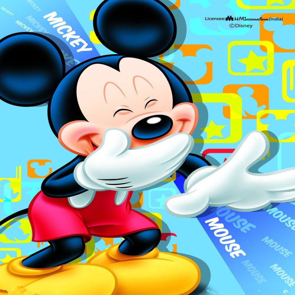 SHANNY Mickey Mouse theme Vinyl Custom Photography Backdrops Prop  Studio Background NMLS-1004 shanny autumn backdrop vinyl photography backdrop prop custom studio backgrounds njy33