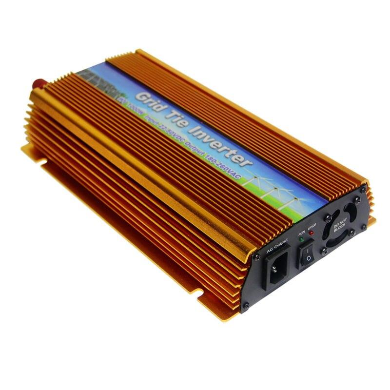 MAYLAR@ 22-50VDC 1000W solar grid tie inverter with MPPT, Output 90-140V.50hz/60hz
