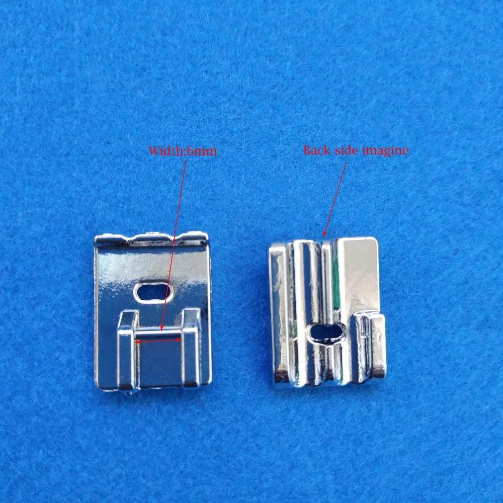 Domestik Multi-Fungsi Mesin Jahit, Pipa Presser Kaki dengan 2 Beralur Lubang # CY-9908, cocok untuk Saudara Janome Penyanyi,...