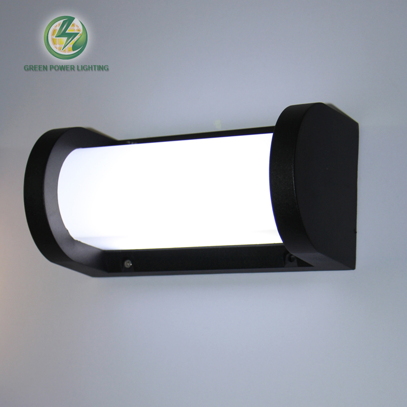 Outdoor lighting wall mounted led wall lamp, waterproof led wall sconce for garden,doorgate 18W 100-240V indoor wall mounted led wall sconce up down led wall lamp lighting input 220 240v
