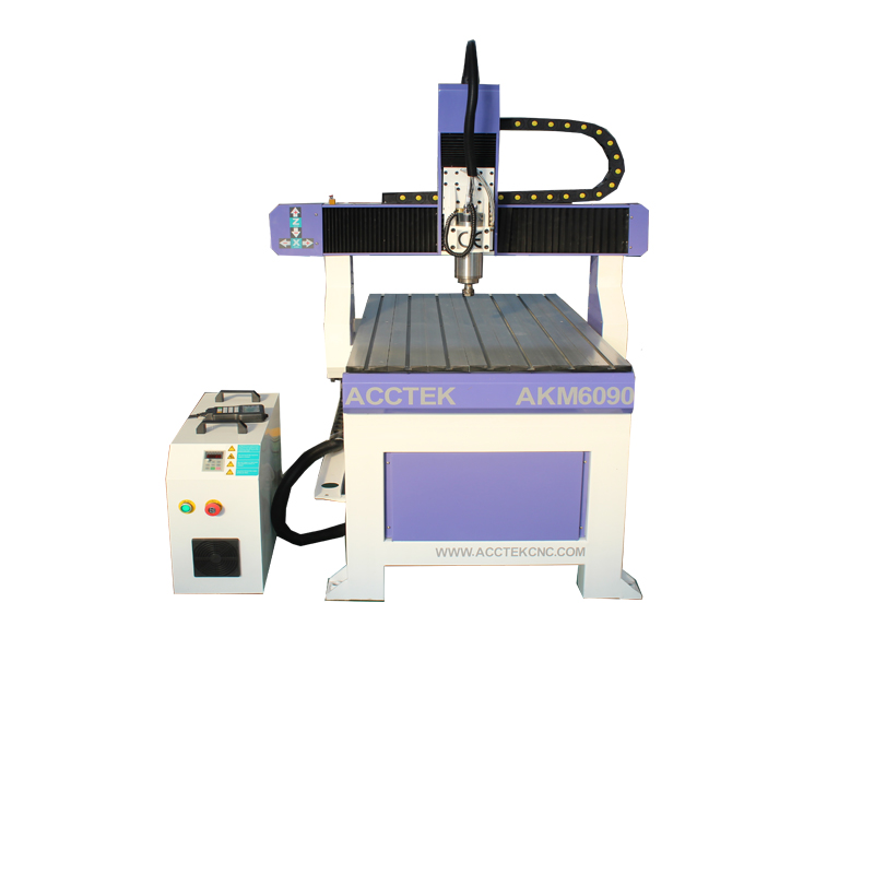 China Aluminum portable advertising cnc router metal engraving machine 6090 table top saw cnc advertising router for guitar make