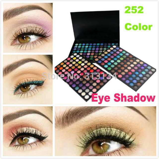 Makeup palette 252 colors Eyeshadow Palette of shadows makeup Eye shadow make up eye shadow palette 252 matte shadow to eye