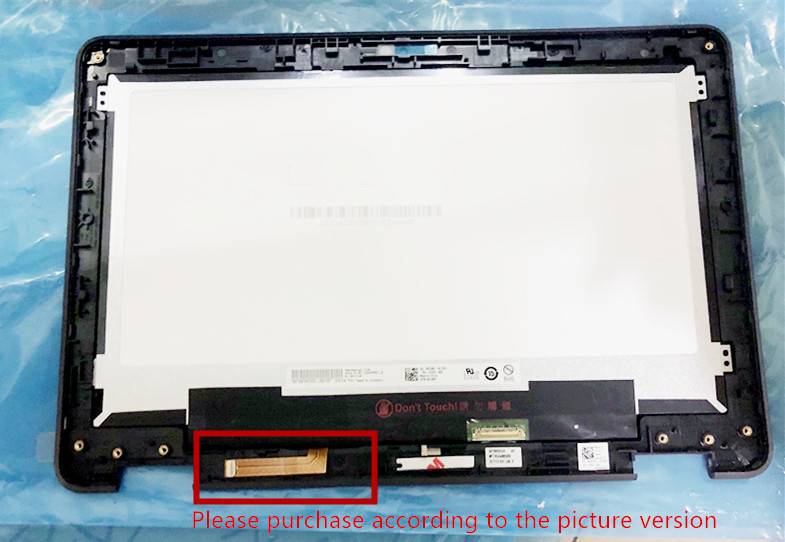 цена на New original For Chromebook 11 3189 B116XAB01.2 screen assembly LCD screen + touch screen + B shell free shipping