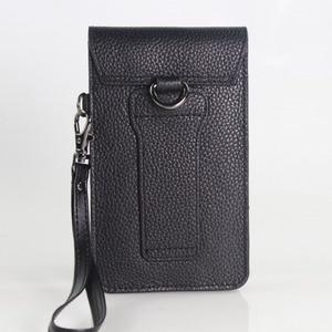 Image 3 - Кожаный чехол из натуральной воловьей кожи с ремнем для сотового телефона 5,0/5,5/6,3/6,4/7 дюймов, кожаный чехол для iphone, карман для хранения денег и карт