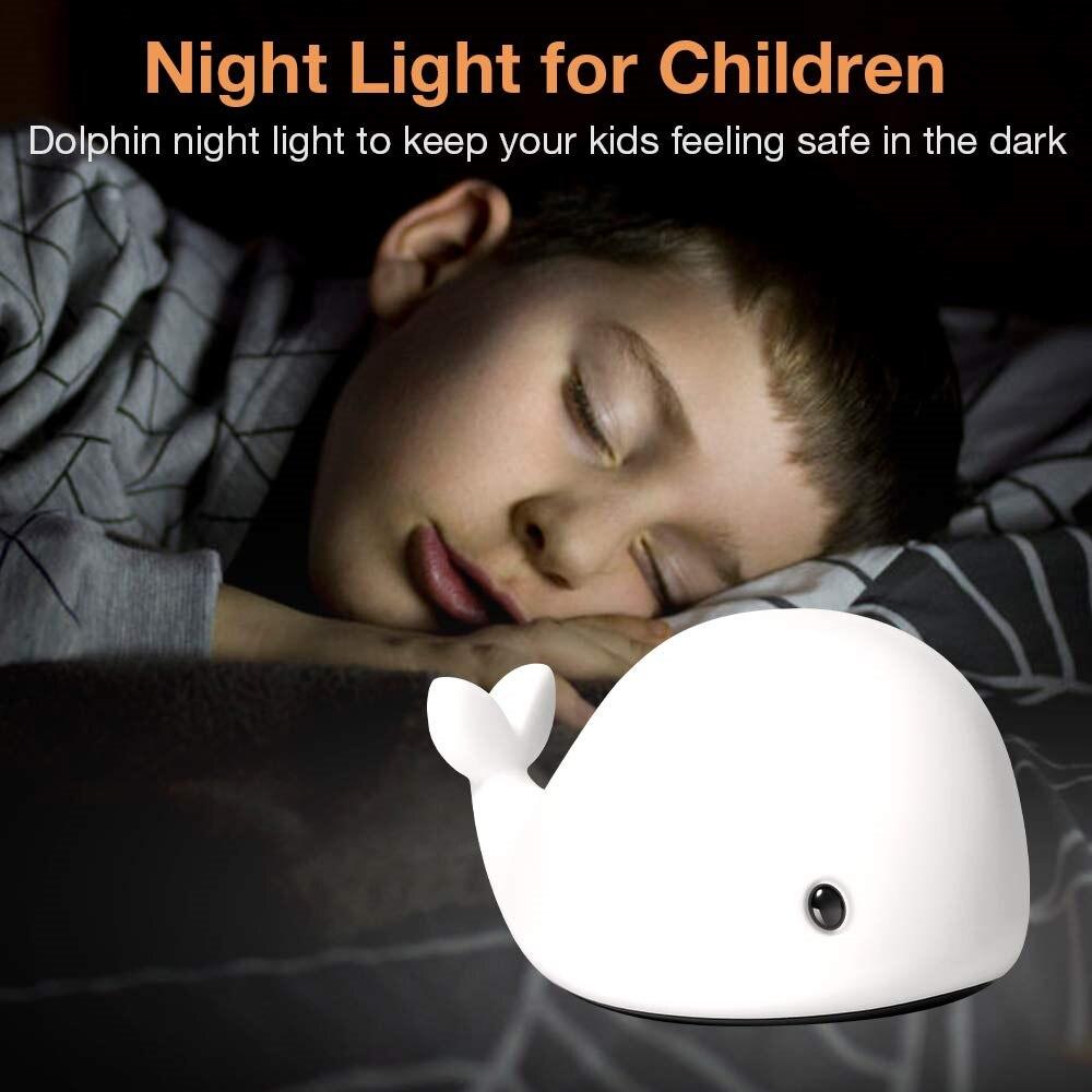 Nova chegada led night light sensor de