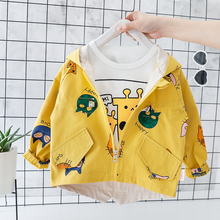 Kid Baby Boy Girl Jacket 1 2 3 4 Years Cartoon Cute  Boy Gir