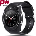 PINWEI V8 Waterproof Bluetooth Smart Watch with IPS HD SIM TF Card Smart Clock Watches Smartwatch Sport watch for Android phone