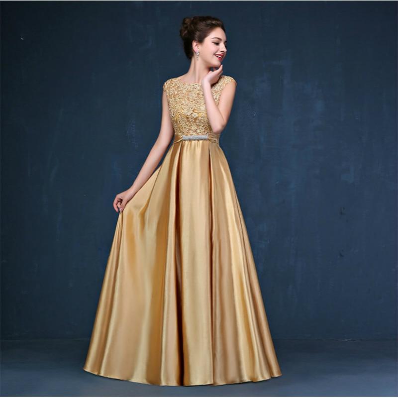 CX SHINE Custom size! Elegant lace long Evening dress tanpa lengan - Gaun acara khas - Foto 3