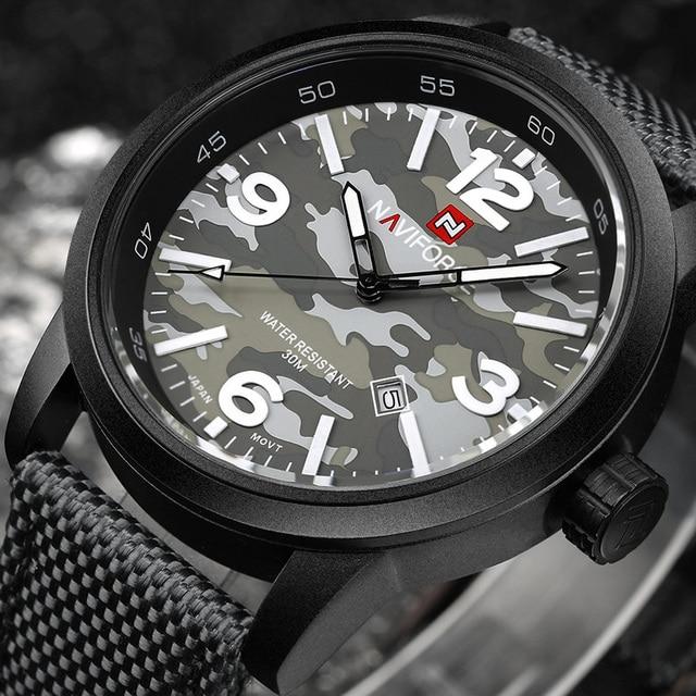 NAVIFORCE Brand New Luxury Casual Men Watches Analog Military Sport Watch Quartz Male Wristwatch Relogio Masculino Montre Homme