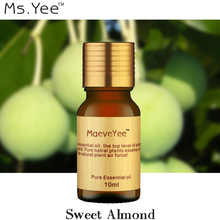 Ms.Yee pure Sweet Almond essential carrier oils be good at anti itching skin dry & sensitive skin, make the soft brighten