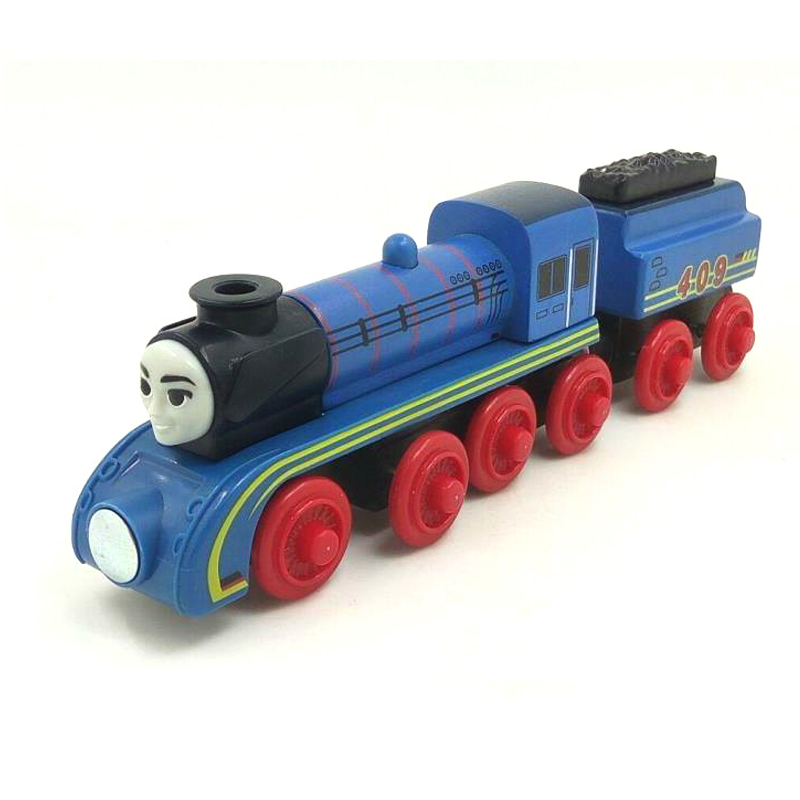 free shipping RARE NEW FRIEDA &TRUCK Thomas And Friends Wooden Magnetic Railway Model Train Engine Boy /Kids Toy Christmas Gift