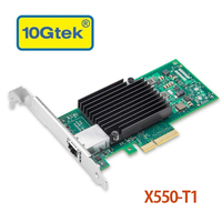 10Gtek for X550 T1, 10GbE Converged Network Adapter(CNA/NIC), Copper Single RJ45 Port(Compatible to Intel X550 T1)
