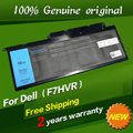 Бесплатная доставка F7HVR Оригинальный Аккумулятор Для ноутбука Dell Inspiron INS15BD Ins17HD 14 15 15r 5545 17 7000 7437 7537 7548 7737 7746