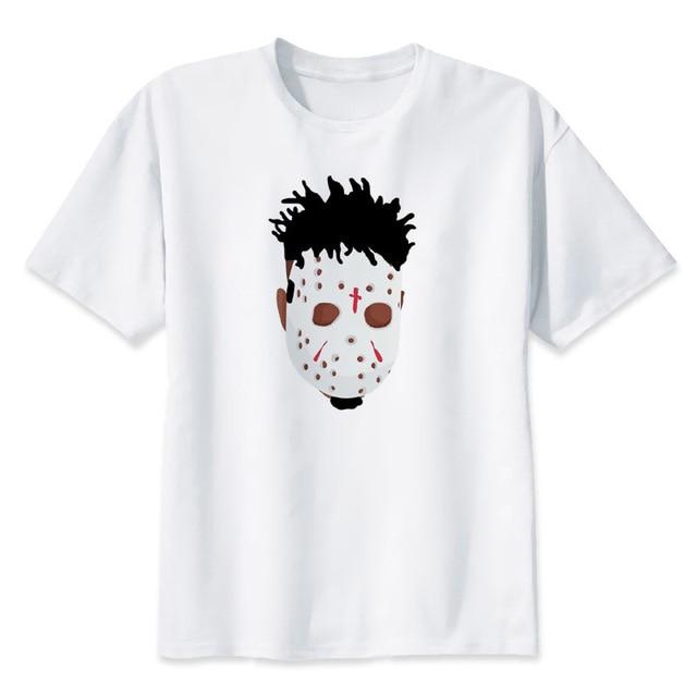 00bf3719 21 Savage T-Shirt men New design tee shirts fuuny men's music T-shirt  O-neck White male T-Shirt summer hip hop Tops Plus size