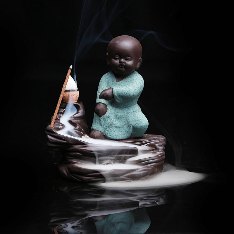 5PCS Incense + Home Decor Будда Censer Керамикалық - Үйдің декоры - фото 4