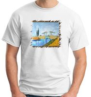 Van Gogh 48 The Drawbridge New 2018 Fashion Hot Funny T Shirts Print Great Discount Sleeve T Shirts New Men's Casual Summer